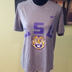 BRAND NEW LSU Dri-fit